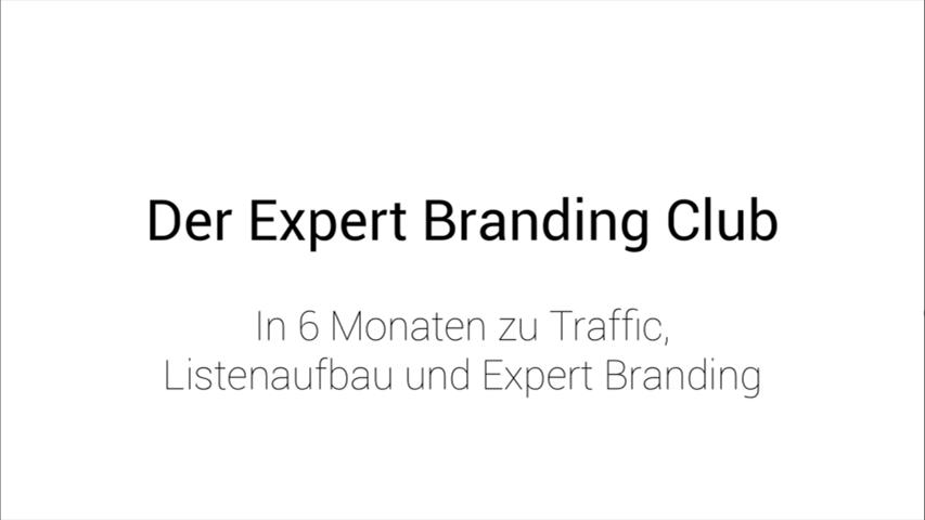 Welche Ziele stellt sich der Expert Branding Club von Mario Schneider
